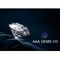 China Lab Created Synthetic Moissanite DEF Color White Diamond With Round Shape 9mm wholesale