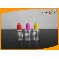 China Empty Clear E-cig Liquid Bottles Recycling Plastic Liquid Containers 20ml 30ml wholesale