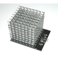 China 8X8X8 RGB LED Cube Shield (Dimensions: 120×100×90mm  Net weight: 265g ) on sale