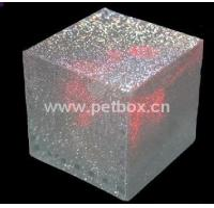 China Plastic PET decoration Packaging Box wholesale