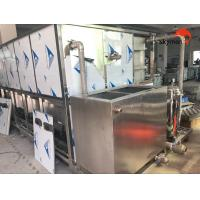 Quality Heater Exchanger Ultrasonic Cleaning Unit 6000L With Sweeping Frequency 28KHz for sale