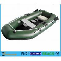 China Challenger 3 Inflatable Float Boat Durable Plastic Raft Boat With Pump And Oars wholesale