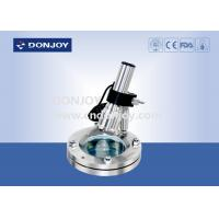 China SS304 Multi Angle light Flanged Stainless Steel Sight Glass with Lamp Charging / Cable power supply wholesale