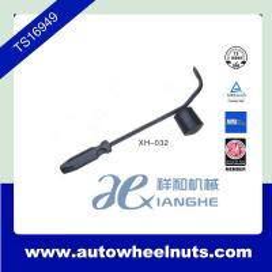 China Automobile Tire Repair Material , Hub Cap Remover Black Painted OEM ODM wholesale