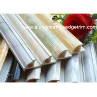 China Rigid Tile Corner Trim PVC And Calcium Carbonate Powder Weather Resistant wholesale