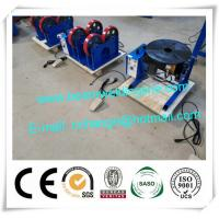 China 30kg 50kg 100kg Small Automatic Welding Positioner , Small Rotating Welding Turntable wholesale