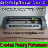 China Tabletop Vinyl Sign Cutter Plotter With Contour Cut TH740 Adhesive Sign Cutter Plotter cut wholesale