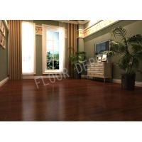 Buy cheap Durable Living Room Laminate Flooring ECO HDF AC3 Walnut Density 810 Waxed from wholesalers