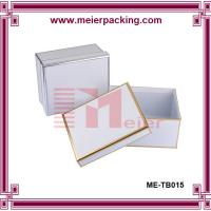 China Luxury custom pet dog belt packaging box, white paper box ME-TB015 wholesale