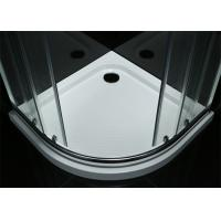 China Simple Modern Shower Room Tempered Glass Material 900*900*1900mm Size wholesale