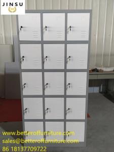 China 15 door steel locker H1850XW900XD450mm for School/Gym/Sports/Employee metal cabinet on sale