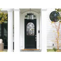 China Good Apperance Entry Door Replacement Glass Frame Heat And Sound Insulation wholesale