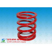 China Profile Compression Shock Absorber Coil Spring 55CrSi 5Mm  Wire Thickness wholesale