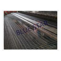 China Galvanized / Carbon Steel Wire Mesh Single / Double Intermediate Weave Pattern wholesale
