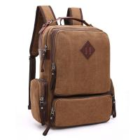 China Large Capacity Practical Laptop Backpack Male Vertical style Computer Backpack Men Multifunctional Versatile Bag wholesale