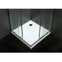 China Reversible Frameless Bathroom Shower Room Silver Color Easy Installation wholesale