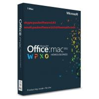 China Office 2011 Home And Business MAC FPP Key For Microsoft Office Product Key Codes on sale