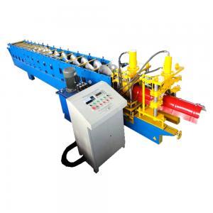 China 5.5kw Metal Roof Ridge Cap Roll Form Equipment PLC Delta Inverter Control wholesale