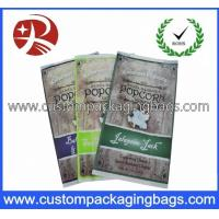 China CPP / OPP Plastic Food Packaging Bags For Popcorn Retail Packaging wholesale