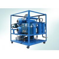 China Automatilc Vacuum Transformer Dehydrator Oil Purification System With Explosion Proof System wholesale