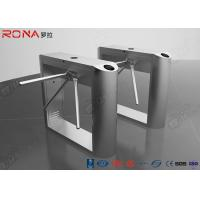 China DC Brushless Rfid Scanner Tripod Barrier Gate Full Automatic 550mm Passage Width wholesale