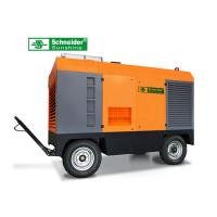 China 75KW Portable Screw Air Compressor 10 m³/min 7 Bar Long Maintenance Cycle wholesale