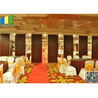 Restaurant Interior Acoustic Movable Partition Walls Manufactures