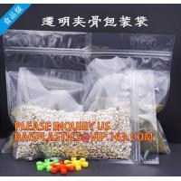 China Candy Seal PP Plastic Zip Lock Bag, rice bag, pp rice bags, Freshness Protection Package Self Sealing clear Zip Lock Pla wholesale