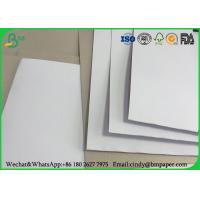China Grade AAA Coated Duplex Board Grey Back 250gr 400g Width 787mm In Roll Packing on sale
