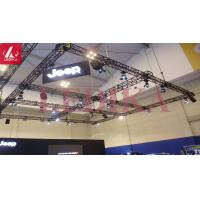 China Multifunctional Aluminum Alloy Stage Lighting 400*400MM Bolt Truss IN Black/ Silver Color  For Auto Show wholesale