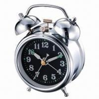 China 3-inch Mechanical Twin Bell Alarm Clock with Old Classic Design wholesale