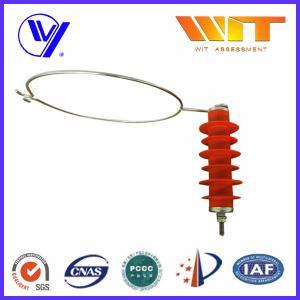 China Metal Oxide Transmission Line Lightning Arrestor Composite Polymer Housing wholesale