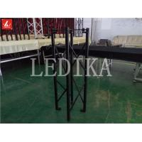 China 20m Max Span Creative 6082 Folding Truss Bright Black For Extensive Activities wholesale