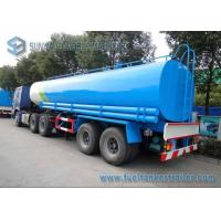China Drinking Water Tanker Trailer 40000 L SUS304 2B Fuel Tanker Semi Trailer wholesale