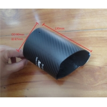 """China XN Car Matte black color Carbon Fiber Exhaust Tip Cover 3.5"""" inch Outlet wholesale"""