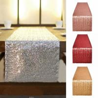 China Solid Color Dining Table Runner Printed Waterproof  Home Decoration Cloth wholesale