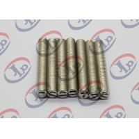 China Full Thread Screw Metal Machined Parts Lathe Turning 303 Stainless Steel wholesale