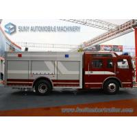 China FAW 4x2 8000L Water Fire Fighting Vehicle 270hp Double Row Cabin wholesale