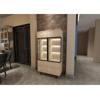 China E1 Standard Modern Sideboard Cabinet With LED Light and 1.5 Meters Hight wholesale
