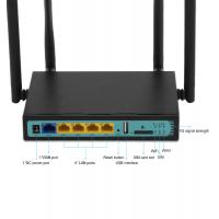 China 4 External Antennas 3G 4G LTE Wifi Router QCA9531 With Pci-E Slot 12V 1A on sale