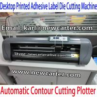 China Printed Label Cutting Plotter With ARMS Vinyl Cutter With AAS 630 Graphic Cutter Sign Cut wholesale