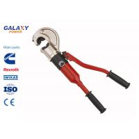 China Manual Hydraulic Crimping Tool , Hand Terminal Crimping Tool 550mm Length wholesale
