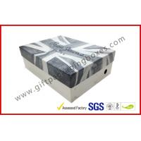 China Customized Rigid Gift Boxes , Printed Shoe Gift Box For Shop on sale