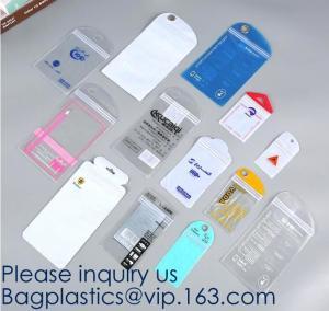 China Self Sealing PVC Plastic Zip Lock Bag Thick Clear k Earrings Jewelry Bag Packaging Storage Bags bagease bagplastic on sale
