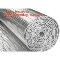 China Roof/Floor/Wall Heat Insulation Aluminum Foil Bubble Material / Thermal Insulation,Bubble Aluminum Foil Building Insulat wholesale