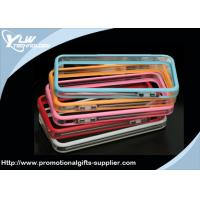 China Apple Iphone Bumper Accessories combination of rubber and molded plastic wholesale