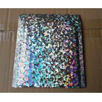 China Recycled Holographic Bubble Envelopes Decorative Mailing Bags Self Sealing on sale