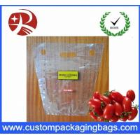China Portable Perforation Fruit Packaging Bags Copper Plate Printing wholesale