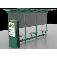 China Auto LCD Outdoor Digital Signage , Digital Bus Stop Shelter Advertising System wholesale