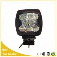 China Top quality Jingxing 80W lamp driving light, 80W square LED work lamp wholesale